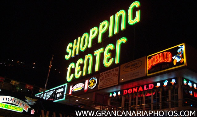 shopping center nightlife