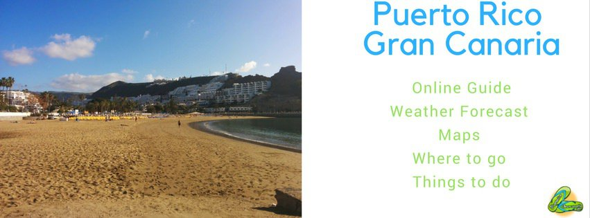 Puerto rico gran canaria online guide photos videos things to do map - Puerto rico spain weather ...